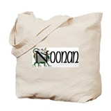 Noonan Celtic Dragon Tote Bag