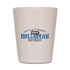 Holloman Air Force Base Shot Glass