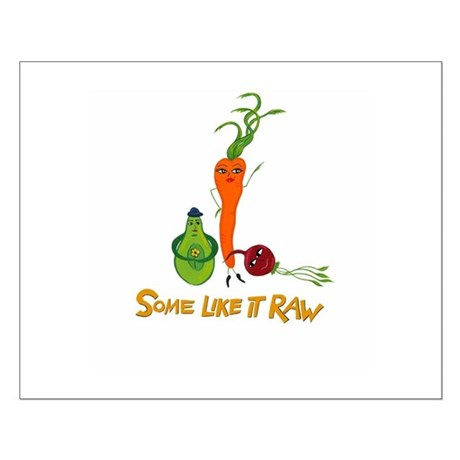 Some Like It Raw Veggie Trio Small Poster
