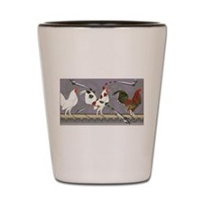 Poultry Painter Shot Glass