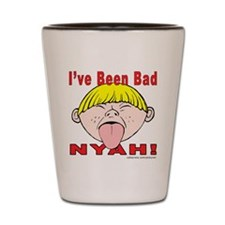 Nyah Bad Boy! Shot Glass