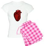 Anatomical Human Heart Women's Light Pajamas