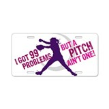 FASTPITCH SOFTBALL Aluminum License Plate