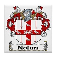 Nolan Coat of Arms Ceramic Tile