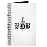BDB Dagger Logo Spiral Bound Journal