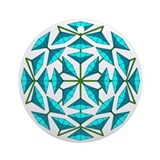 Eclectic Flower 291 Ornament (Round)