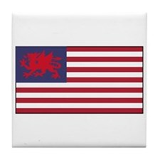 Welsh American Tile Coaster