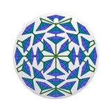 Eclectic Flower 274 Ornament (Round)