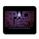 Mousepad  with Space Quest logo