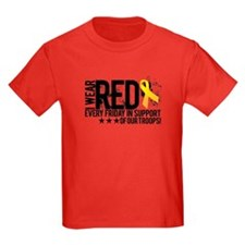 Funny Red friday T