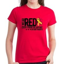 Unique Red friday Tee