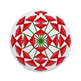 Eclectic Flower 232 Ornament (Round)