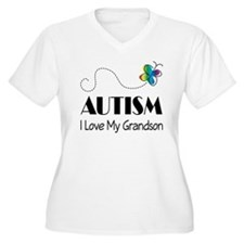 Autism I Love My Grandson T-Shirt