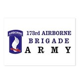 173rd AIRBORNE Postcards (Package of 8)