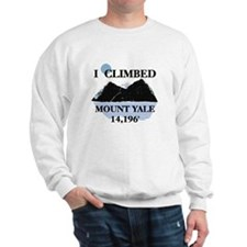 I Climbed Mount Yale Sweatshirt