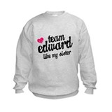 Team Edward Sister Sweatshirt
