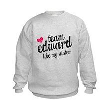 Team Edward Sister Sweatshirt
