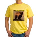 Grizzly Bear YNP Yellow T-Shirt