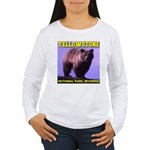 Grizzly Bear YNP Women's Long Sleeve T-Shirt
