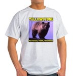 Grizzly Bear YNP Light T-Shirt