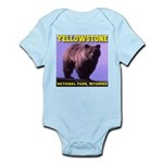 Grizzly Bear YNP Infant Bodysuit