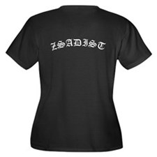 BDB Logo Plus Size V-Neck T-Shirt - Zsadist
