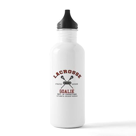 Lacrosse Goalie Stainless Water Bottle 1.0L