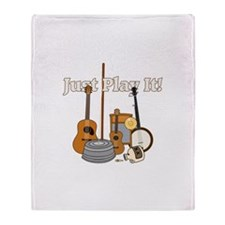 Just Play It! Throw Blanket