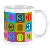 Polychrome Threes Mug