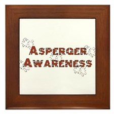 Unique Aspergers Framed Tile