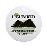 I Climbed Mount Bierstadt Ornament (Round)