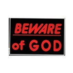 Atheist humor Rectangle Magnet (10 pack)