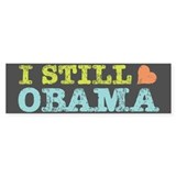 Still Heart Obama Bumper Sticker