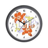 Aloha Wall Clock