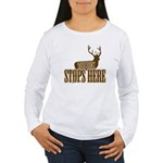 THE BUCK Women's Long Sleeve T-Shirt