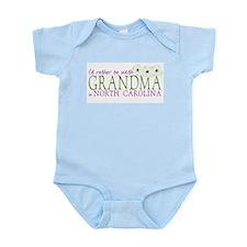 Grandma in North Carolina Infant Bodysuit