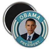 "Blue Obama for President 2.25"" Magnet (10 pack)"