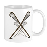 Traditional Lacrosse Sticks Small Mug