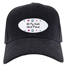 All My Kids/Children Have Paws Baseball Hat