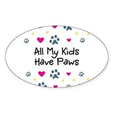 All My Kids/Children Have Paws Decal