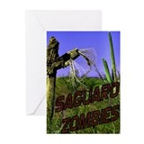Saguaro Zombies Zombie 2 Greeting Cards (Pk of 10)