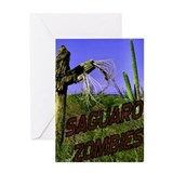 Saguaro Zombies Zombie 2 Greeting Card