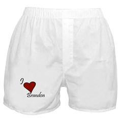 I love Brandon Boxer Shorts