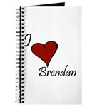 I love Brendan Journal