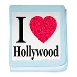 I Love Hollywood baby blanket
