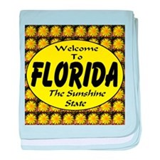 Welcome To Florida The Sunshi baby blanket