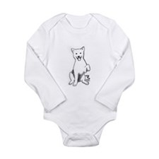 Unique Sketching Long Sleeve Infant Bodysuit