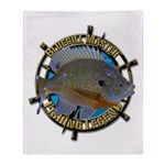 Bluegill Master Throw Blanket