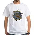 Bluegill Master White T-Shirt