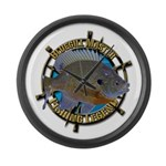 Bluegill Master Large Wall Clock